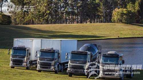 拉丁美洲专享 巴西沃尔沃推出新款vm卡车 高清图片