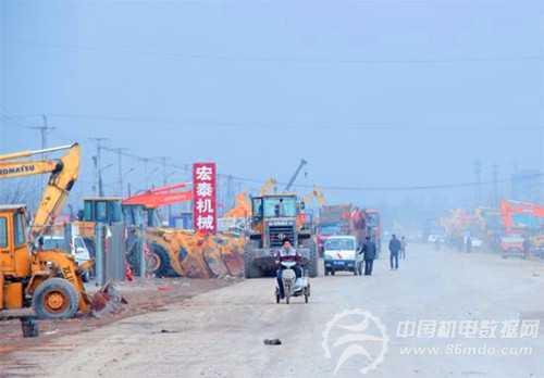 工程机械拍卖的中国发展之路