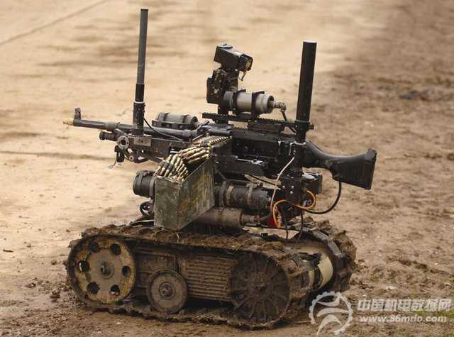 美国军用机器人10年内超过人类士兵数量