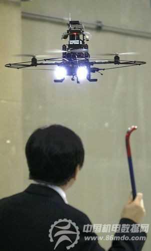 日本将开发小型飞行机器人 空中守卫奥运会