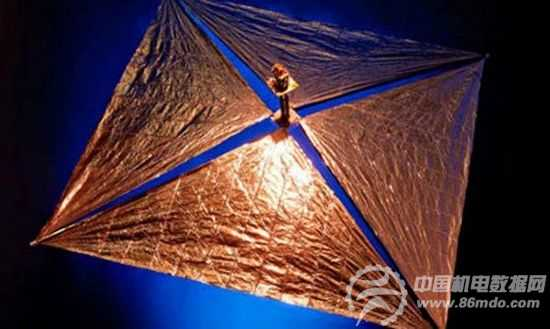 [组图]欧洲设计帆形飞船 清理700公里高度轨道垃圾
